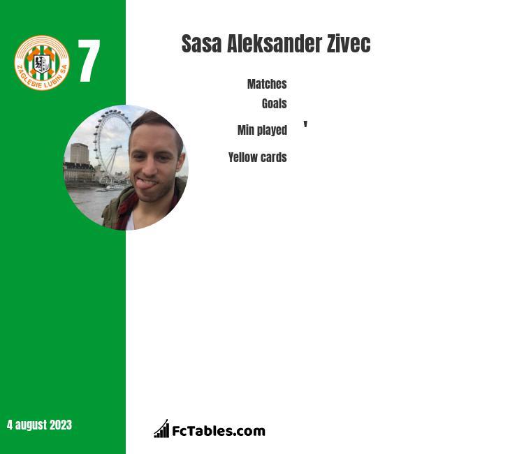 Sasa Zivec infographic