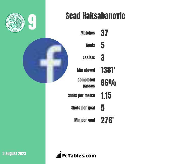 Sead Haksabanovic infographic