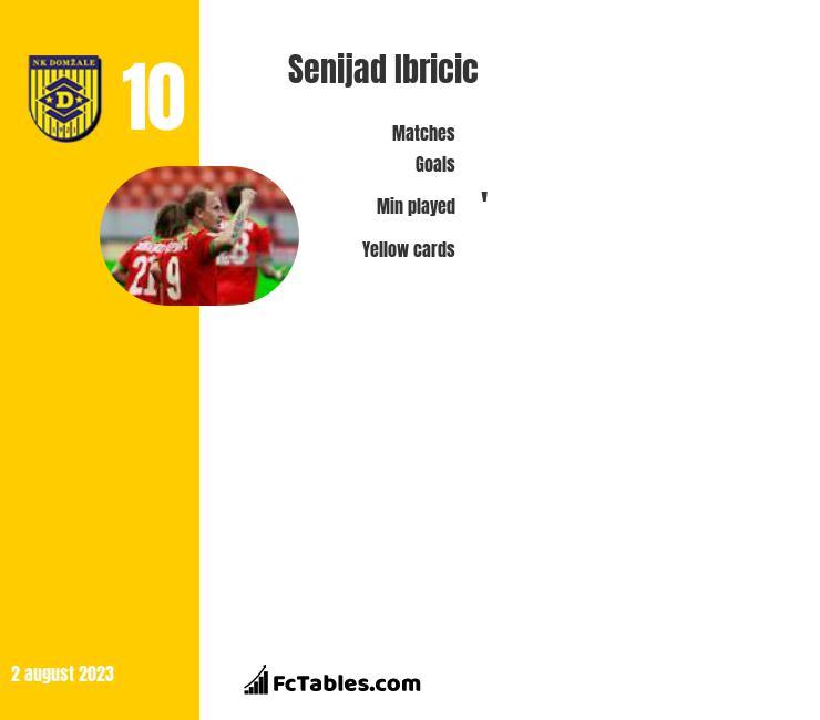 Senijad Ibricić infographic