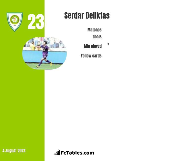 Serdar Deliktas infographic