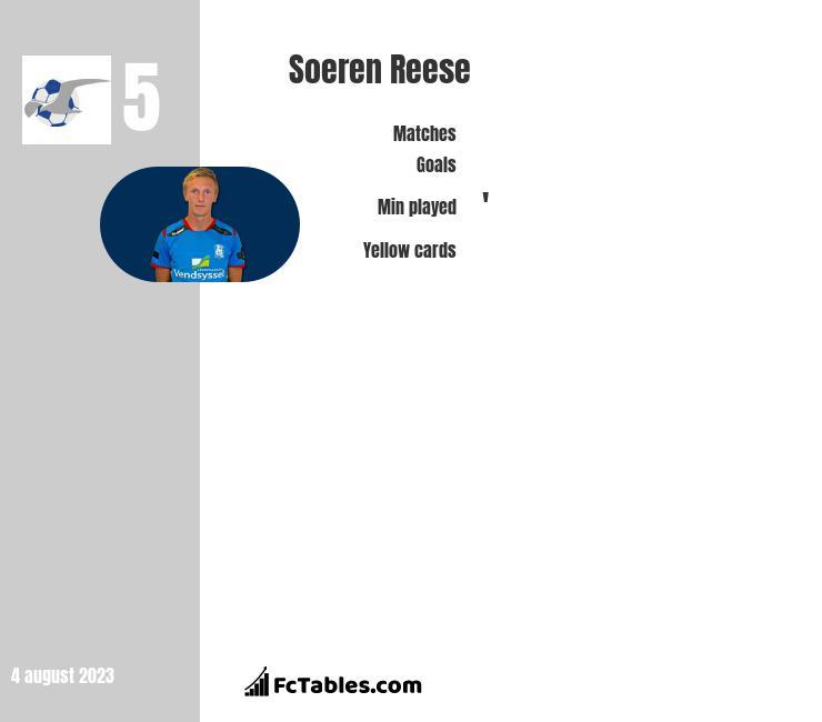 Soeren Reese infographic