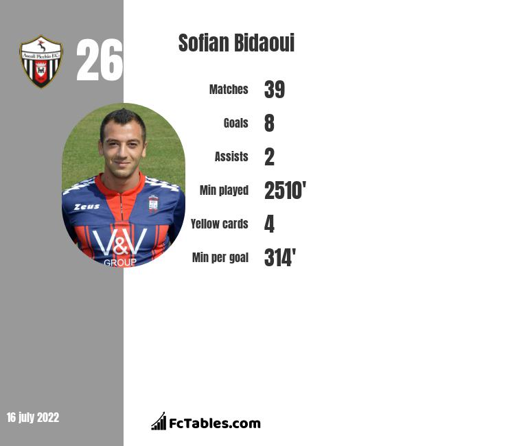 Sofian Bidaoui infographic