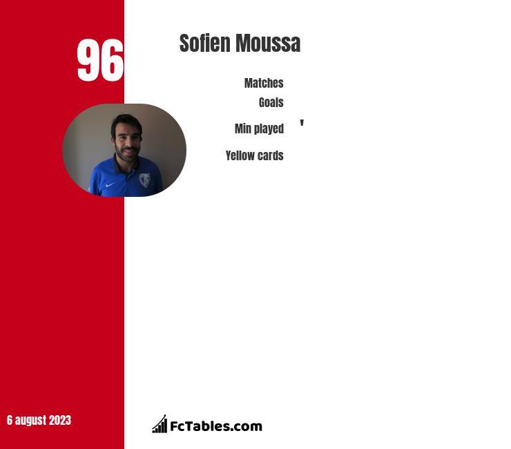 Sofien Moussa infographic