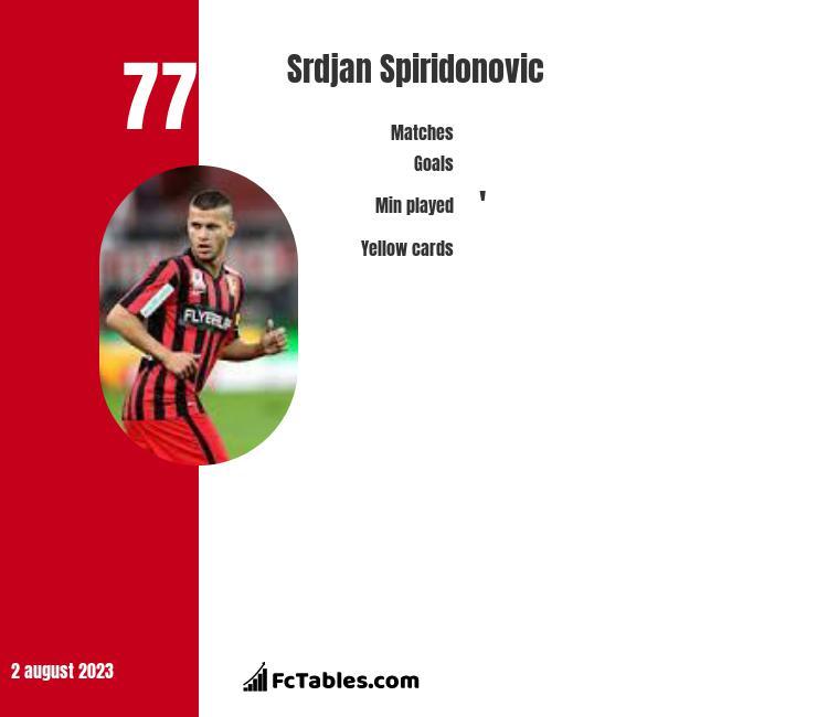 Srdjan Spiridonovic infographic