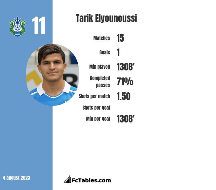 Tarik Elyounoussi infographic
