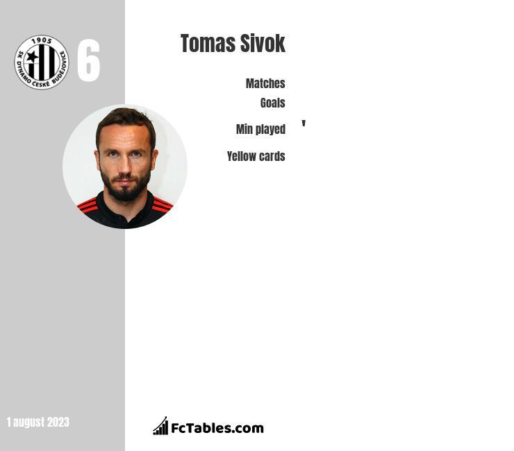 Tomas Sivok infographic