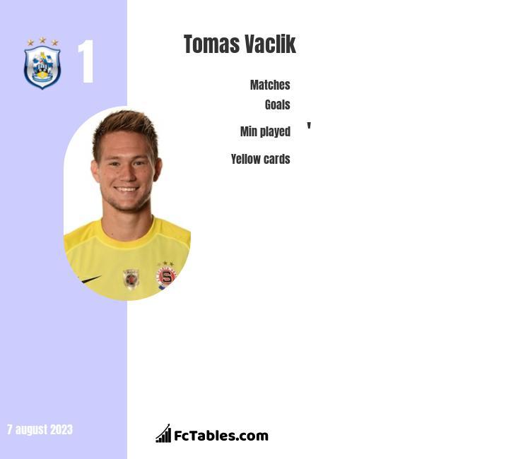 Tomas Vaclik infographic