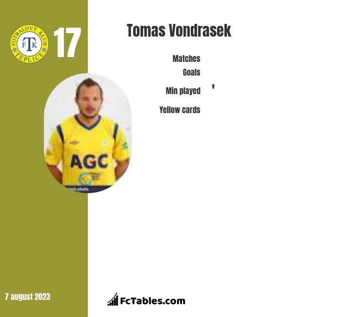 Tomas Vondrasek infographic