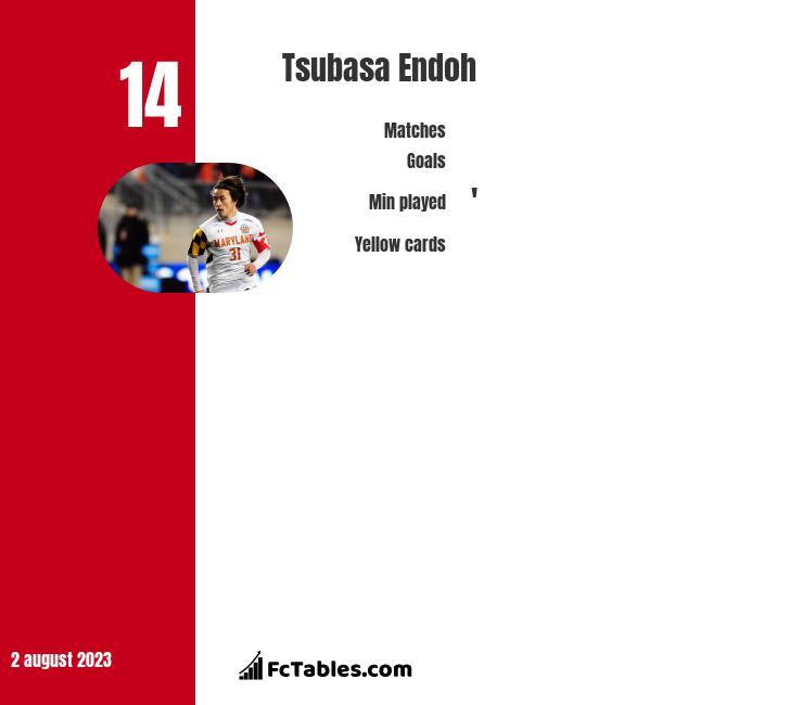 Tsubasa Endoh infographic