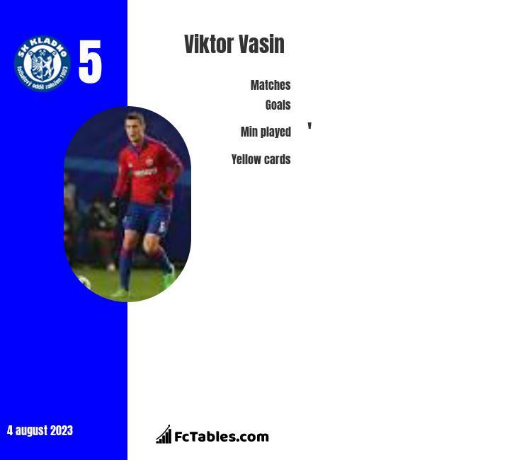 Viktor Vasin infographic