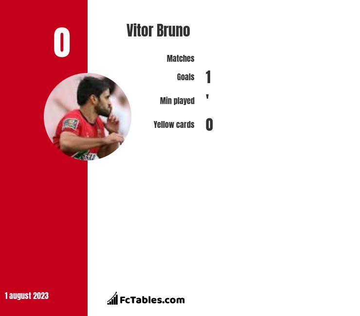 Vitor Bruno infographic