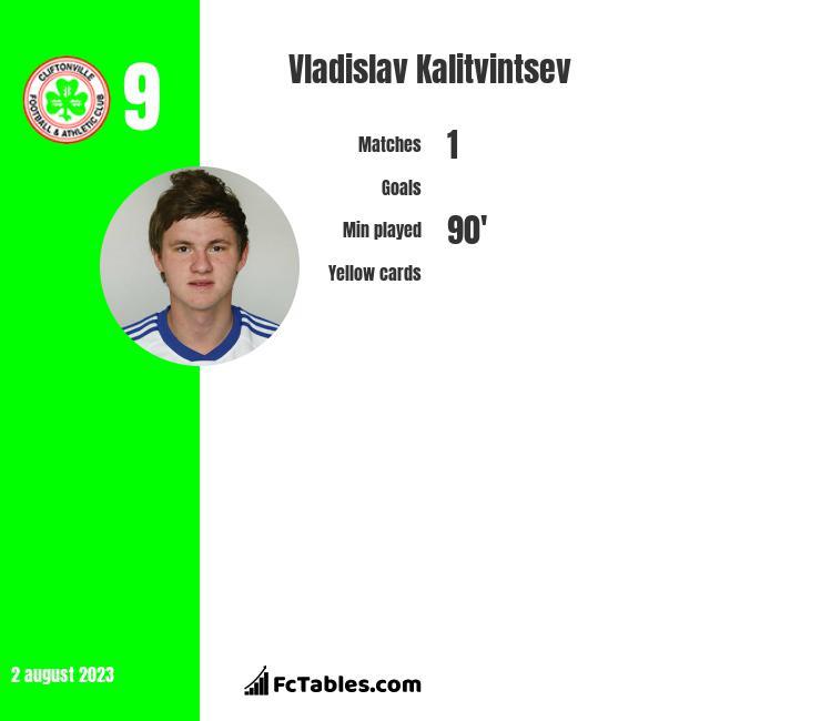 Vladislav Kalitvintsev infographic