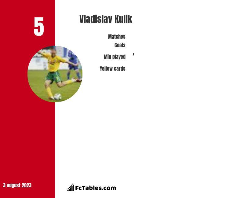 Vladislav Kulik infographic
