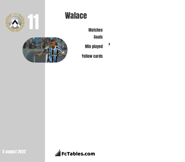 Walace infographic statistics for Hannover 96