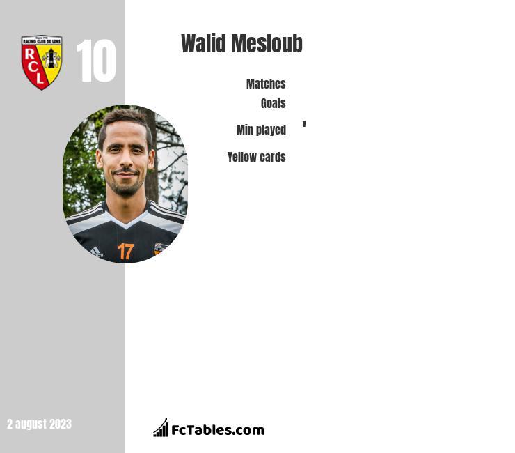 Walid Mesloub infographic