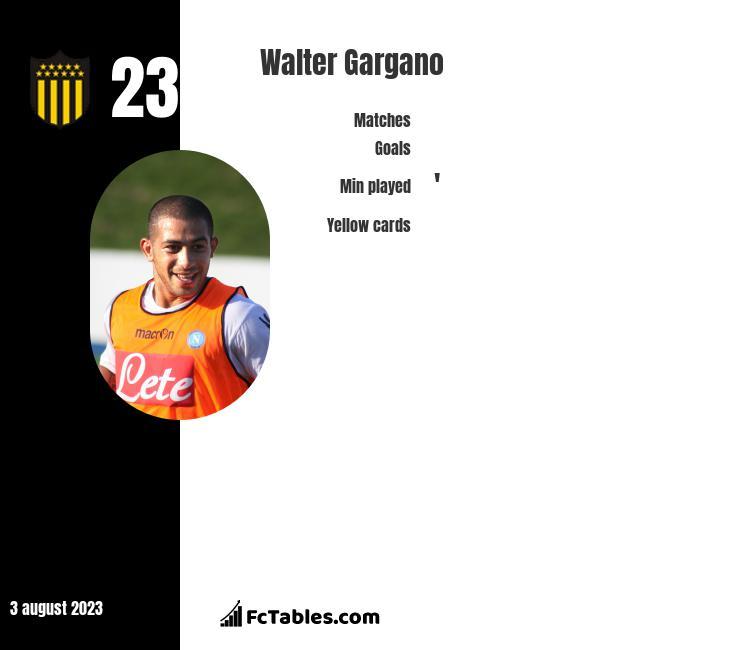 Walter Gargano infographic