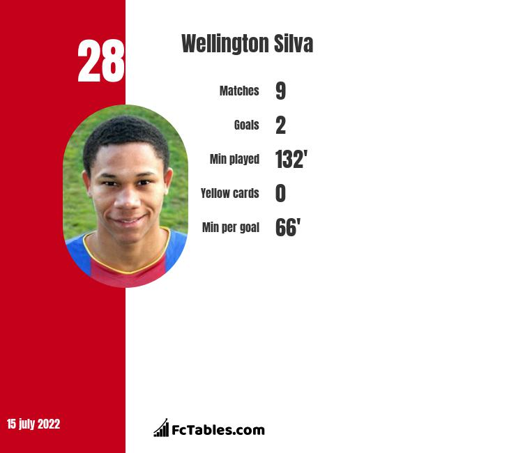Wellington Silva infographic