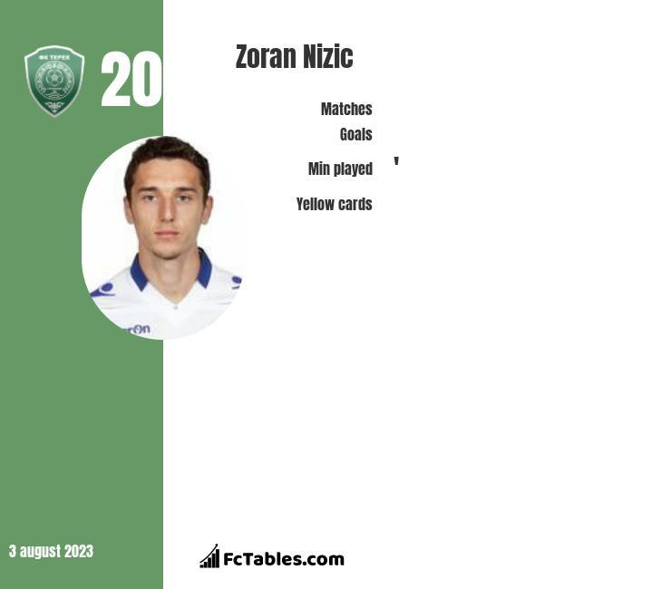 Zoran Nizic infographic