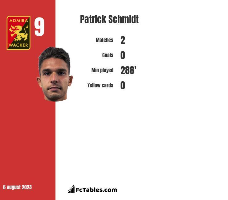 Patrick Schmidt infographic