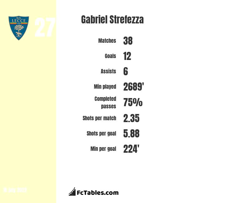 Gabriel Strefezza infographic