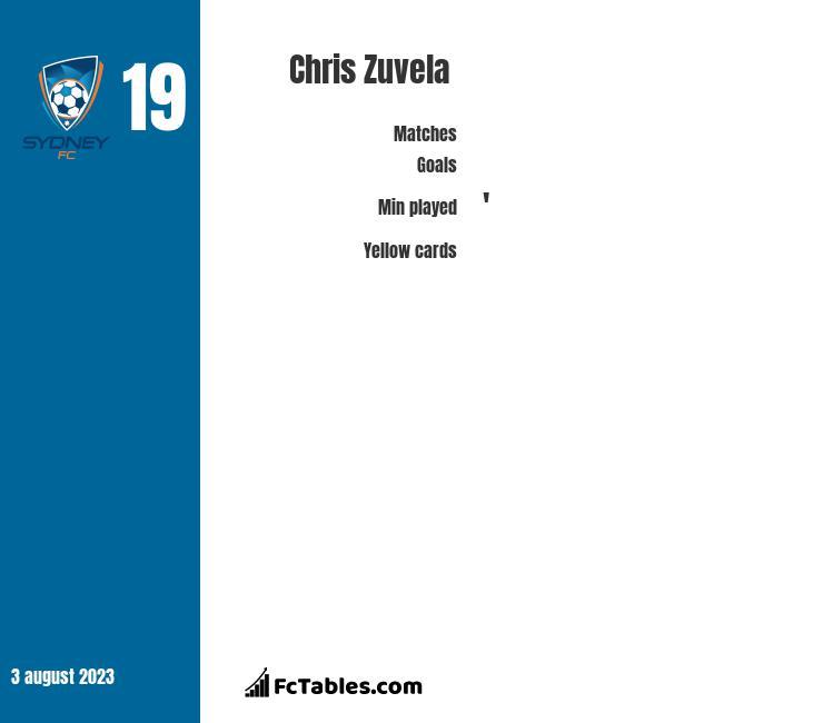 Chris Zuvela infographic
