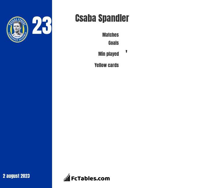 Csaba Spandler infographic