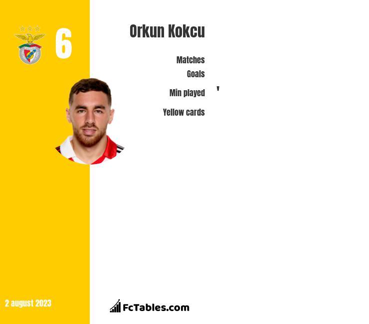 Orkun Kokcu infographic