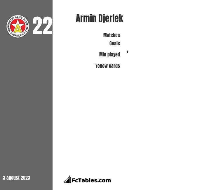 Armin Djerlek infographic