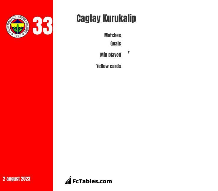 Cagtay Kurukalip infographic