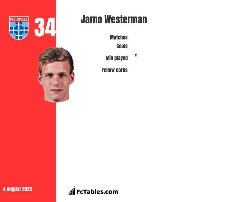 Jarno Westerman infographic