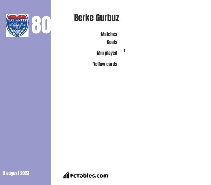 Berke Gurbuz infographic
