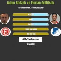 Adam Bodzek vs Florian Grillitsch h2h player stats
