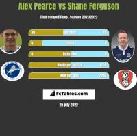 Alex Pearce vs Shane Ferguson h2h player stats