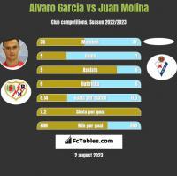 Alvaro Garcia vs Juan Molina h2h player stats