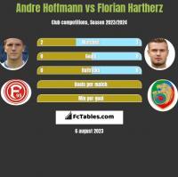 Andre Hoffmann vs Florian Hartherz h2h player stats