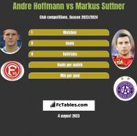 Andre Hoffmann vs Markus Suttner h2h player stats