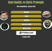 Anel Hadzić vs Boris Prokopic h2h player stats