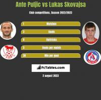 Ante Puljic vs Lukas Skovajsa h2h player stats