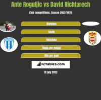 Ante Roguljic vs David Richtarech h2h player stats