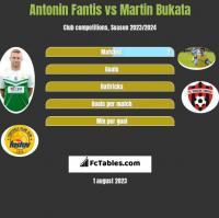 Antonin Fantis vs Martin Bukata h2h player stats