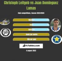 Christoph Leitgeb vs Juan Dominguez Lamas h2h player stats