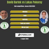 David Bartek vs Lukas Pokorny h2h player stats