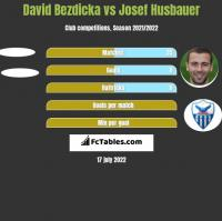 David Bezdicka vs Josef Husbauer h2h player stats