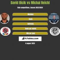 David Bicik vs Michal Reichl h2h player stats
