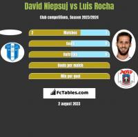 David Niepsuj vs Luis Rocha h2h player stats