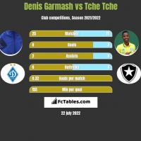 Denis Garmash vs Tche Tche h2h player stats