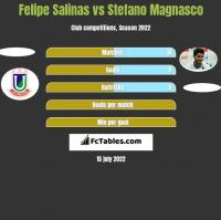 Felipe Salinas vs Stefano Magnasco h2h player stats