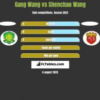 Gang Wang vs Shenchao Wang h2h player stats