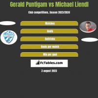 Gerald Puntigam vs Michael Liendl h2h player stats