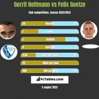 Gerrit Holtmann vs Felix Goetze h2h player stats
